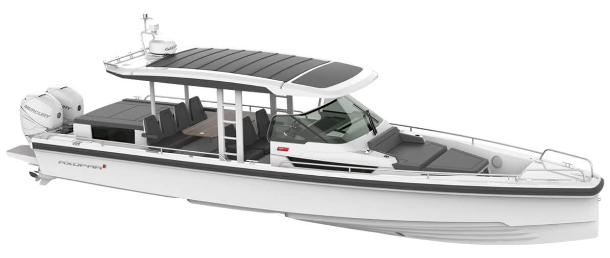 Nautical Ventures Axopar Boats Fort Lauderdale Axopar 28 T Top