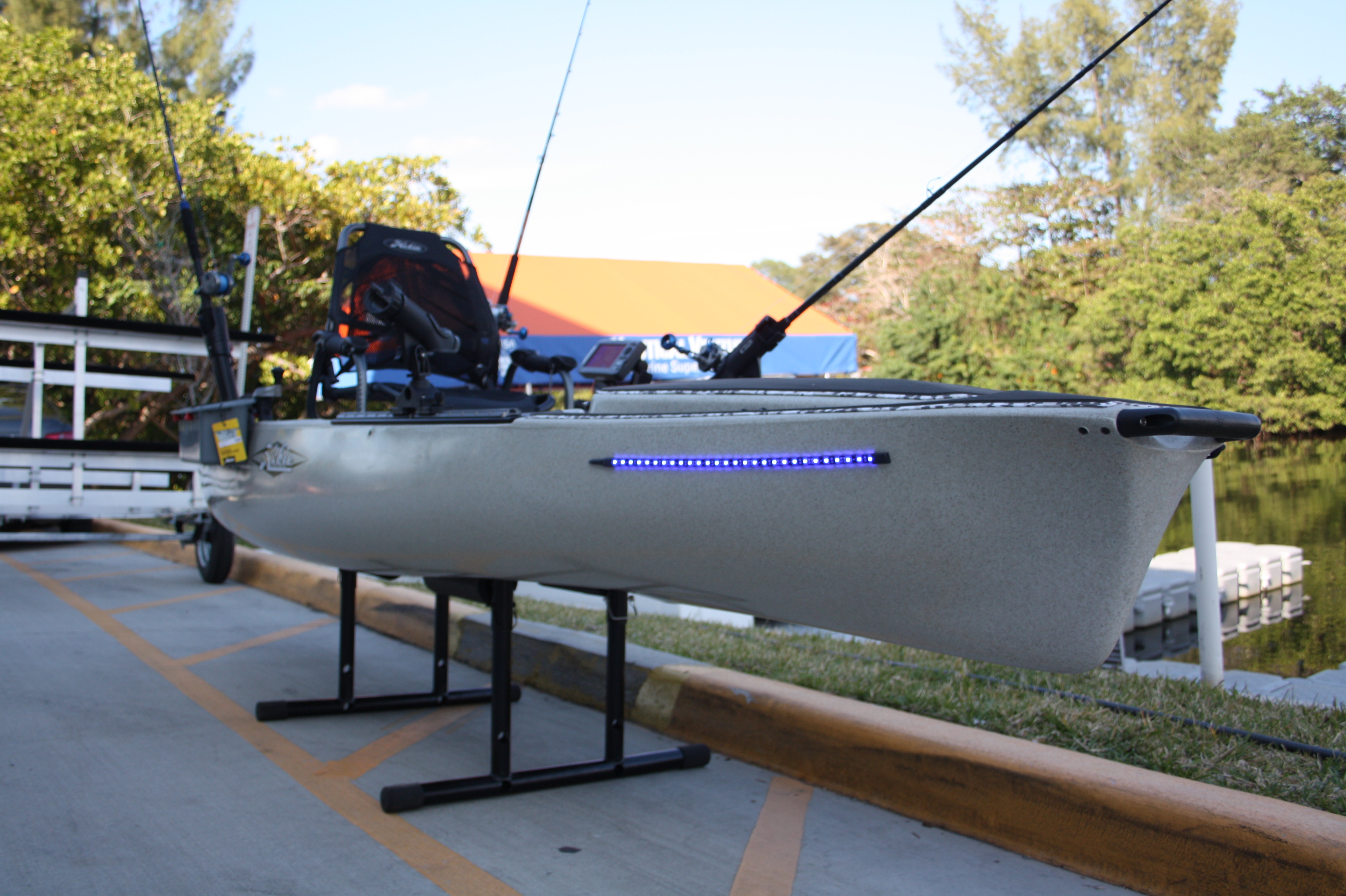 Modding your kayak for extreme fishing blog nautical for Kayak fishing florida
