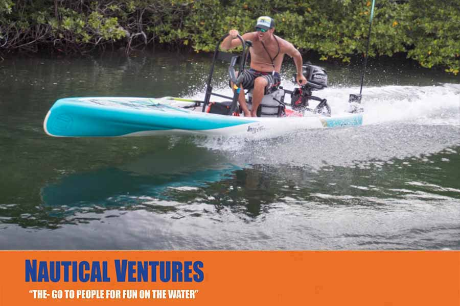 Blog nautical ventures for Bote paddle board with motor