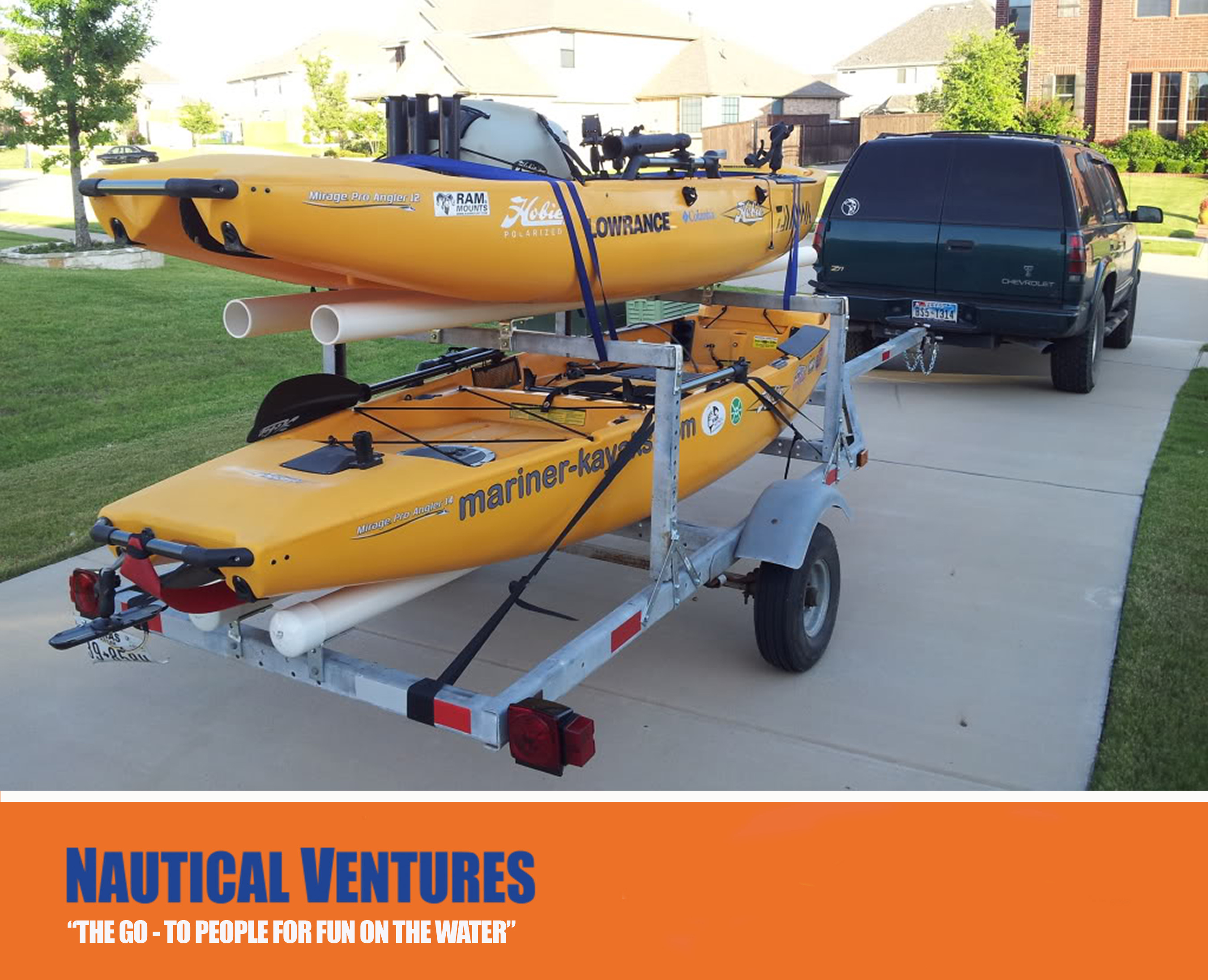 Kayak Trailers How To Choose The Right One Blog
