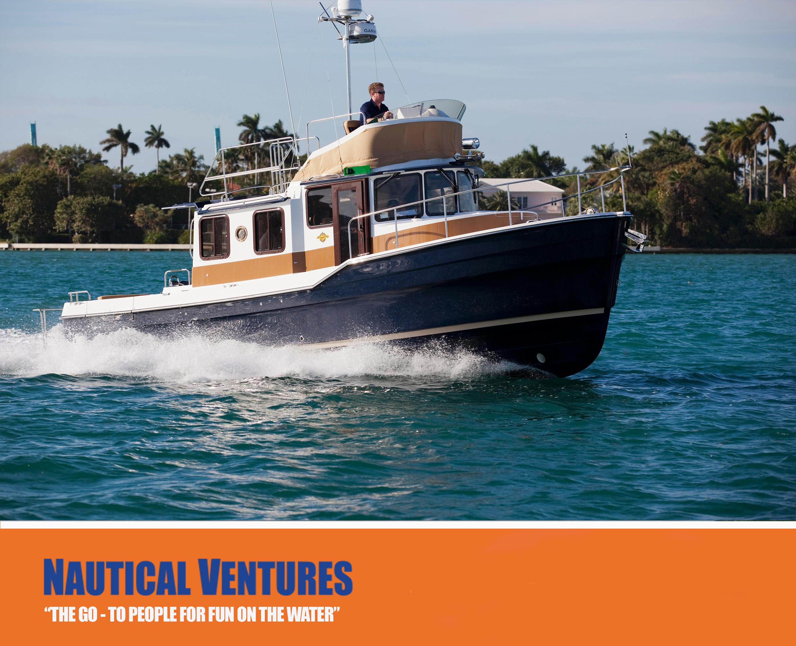 The Ranger Tug Boat R-31 CB - Your Home Port Wherever Home