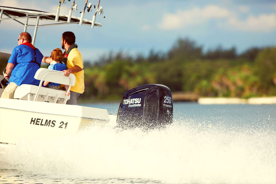 Tohatsu's 4-Stroke 200 Outboard –Power to Take Your Breath