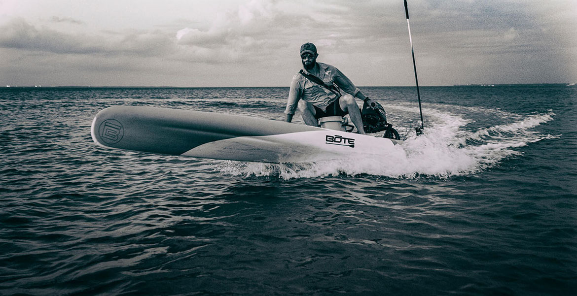 Bote Rover: The Revolutionary Motorized Stand Up Paddle