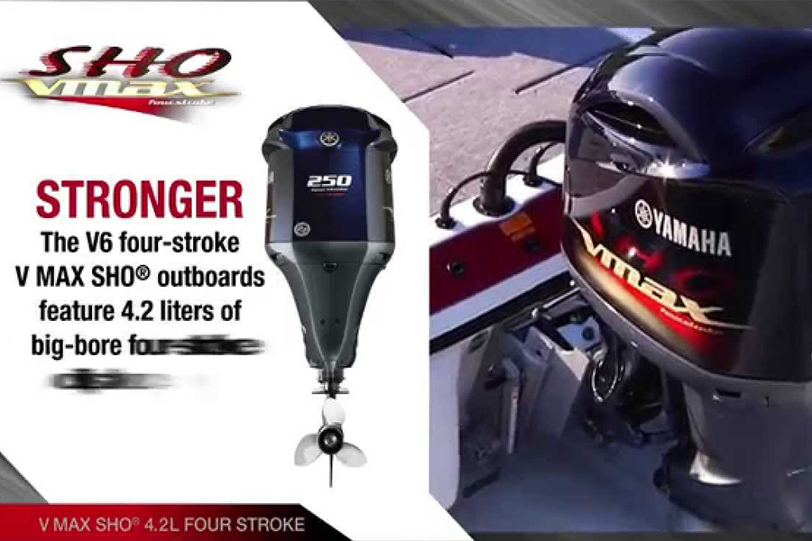 Yamaha Outboard V-Max SHO Outboards – The Next Generation