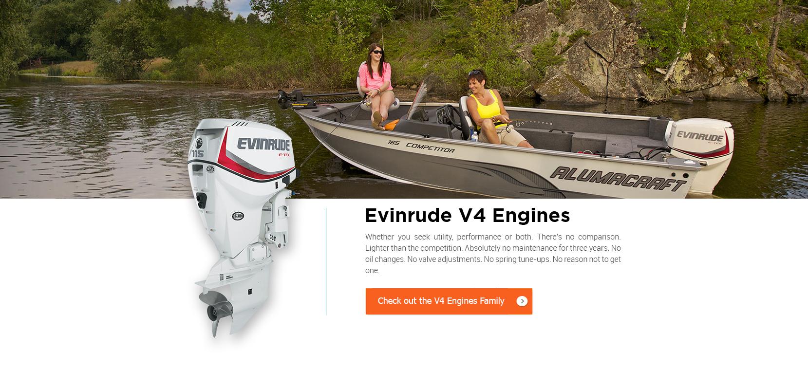 Evinrude Outboard | Nautical Ventures
