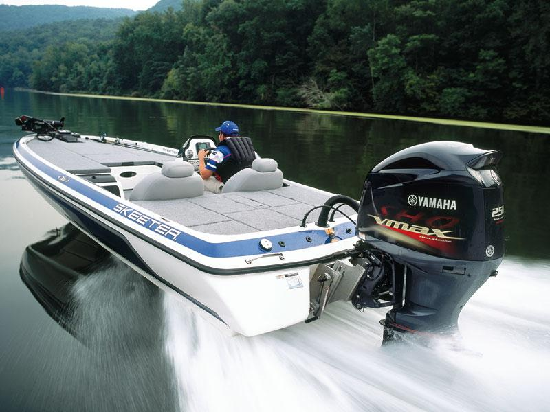 Yamaha  Four Stroke Outboard Used In Saltwater