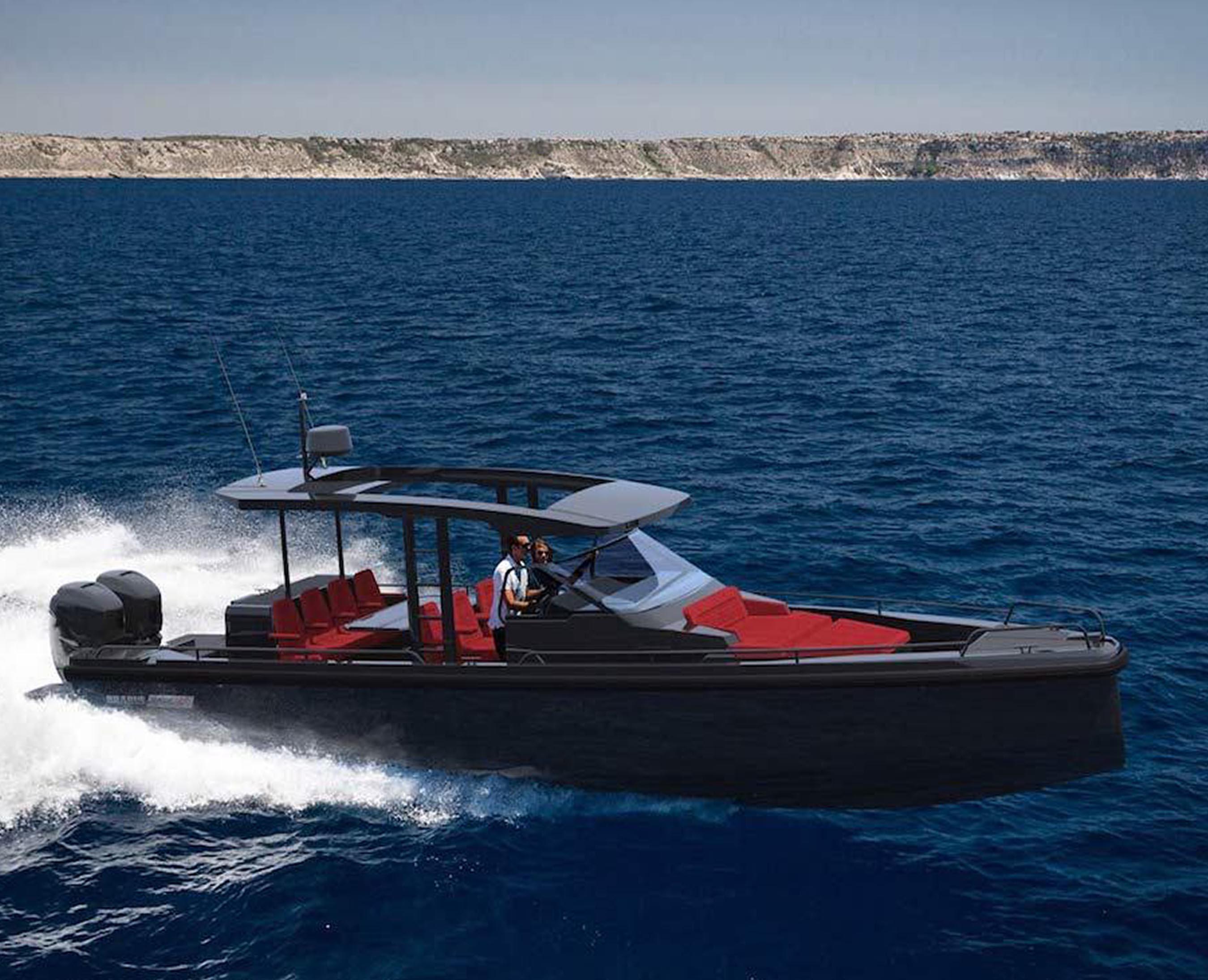 Nautical Ventures Group announces U.S. debut of Brabus Shadow 800 tender