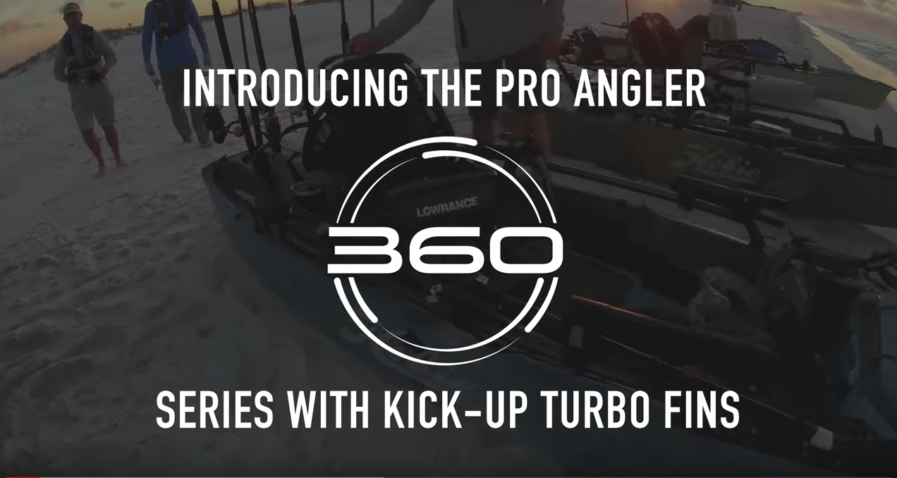 ALL-NEW from Hobie: Mirage Pro Angler 360 Series
