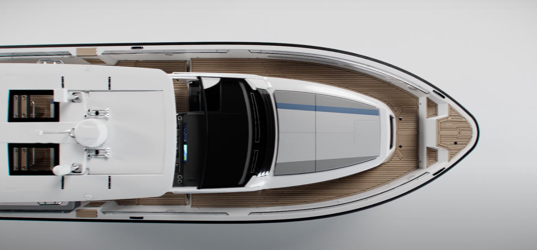 The new windy SR44 SX to be launched at the 2021 Fort Lauderdale International Boat Show, October 27th - 31st.